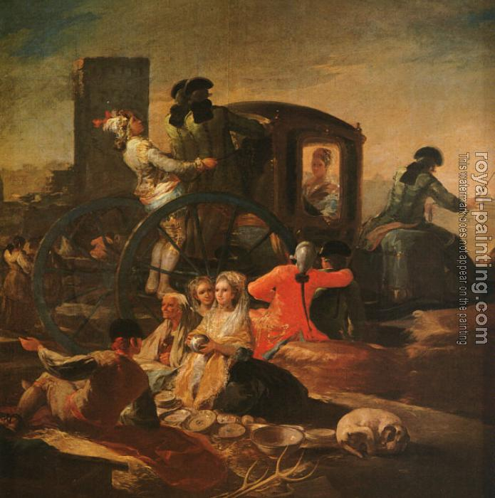 Francisco De Goya : The Pottery Vendor